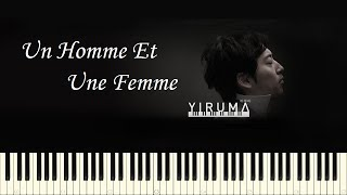 ♪ Yiruma: Un Homme Et Une Femme (A Man and a Woman) - Piano Tutorial