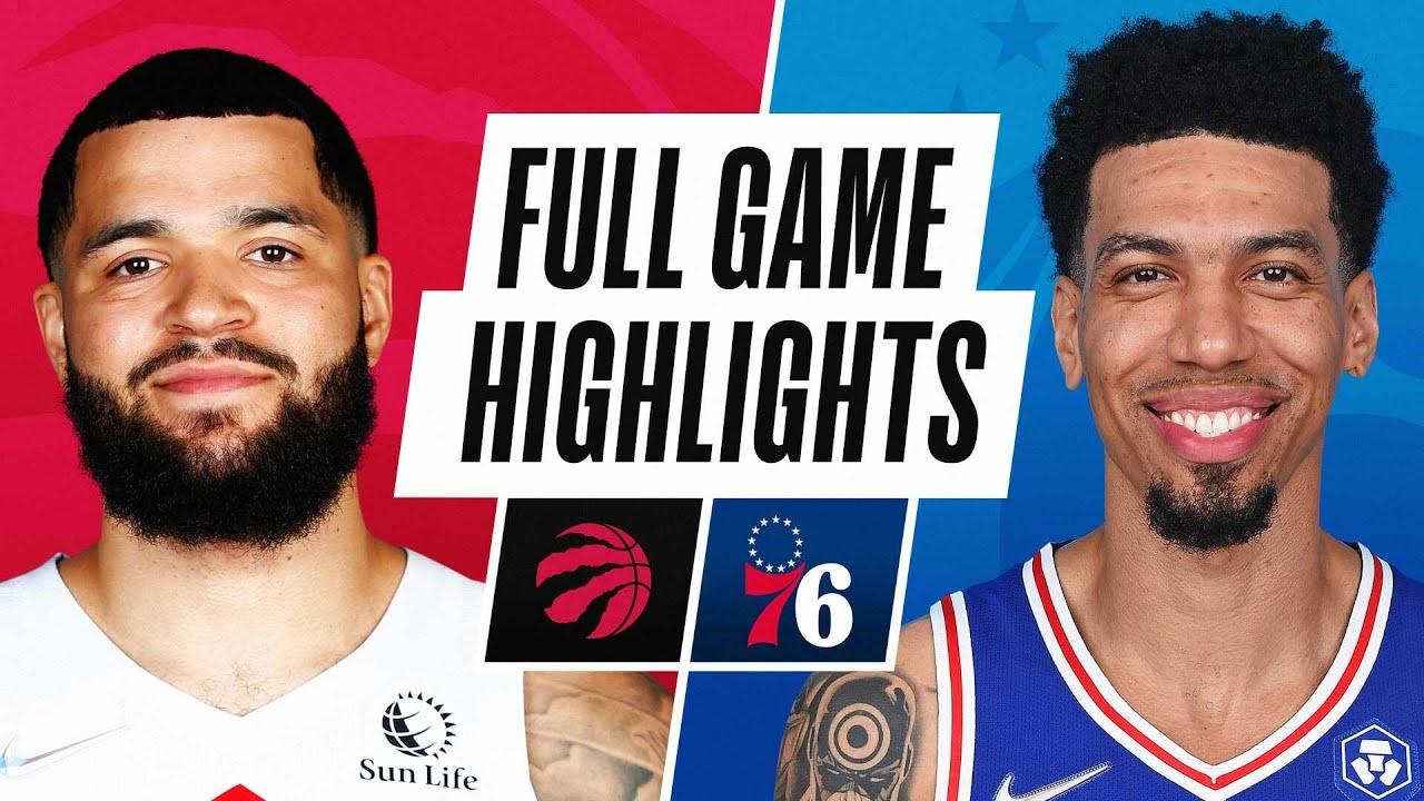 RAPTORS at 76ERS | NBA PRESEASON FULL GAME HIGHLIGHTS | October 7, 2021