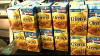Depackaging Dry Cereal