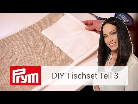 DIY Tischset | Edeles Tischset mit Nandini Mitra nähen (Teil 3)