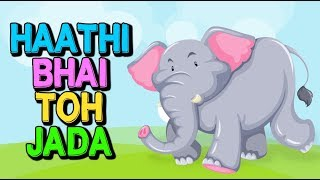 Gujarati Balgeet   Haathi Bhai Toh Jada & Mummy Ne Bhai Mama Mix   Gujarati Nursery Rhymes