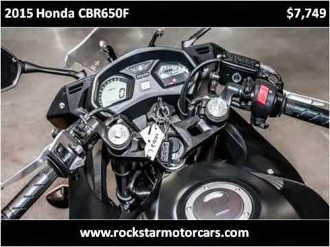 Video of 2015 CBR650F - $5,999.00 Offered by Rockstar Motorcars - JTL5
