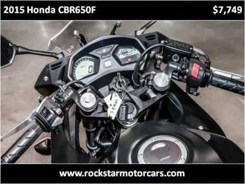 2015 Honda CBR650F for Sale - CC-924809