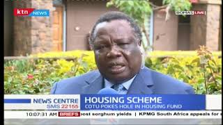 COTU SG Francis Atwoli rejects government's proposal to deduct employees' money for housing project