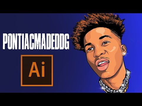 HOW TO MAKE A CARTOON | PontiacMadeDDG – ADOBE ILLUSTRATOR TUTORIAL