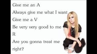 Avril Lavigne - The Best Damn Thing [Lyrics/Letra]