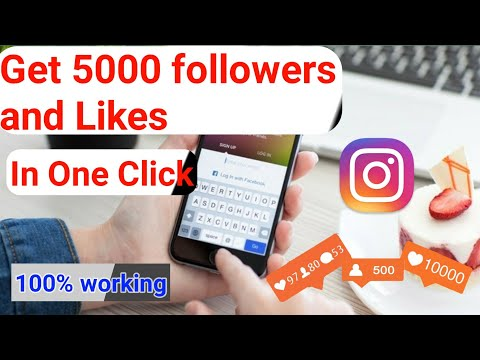 How To Get 100% Real Unlimited Instagram Followers & Likes |Free