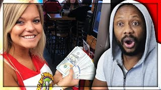 REACTING TO MrBeast - Ordering Water Then Tipping $30,000 | RealGee