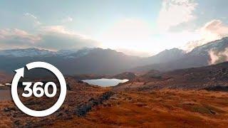 Mountaintop Sunset | La Paz, Bolivia 360 VR Video | Discovery TRVLR