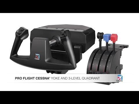 Видео № 0 из игры Saitek Pro Flight Yoke System самолётный штурвал