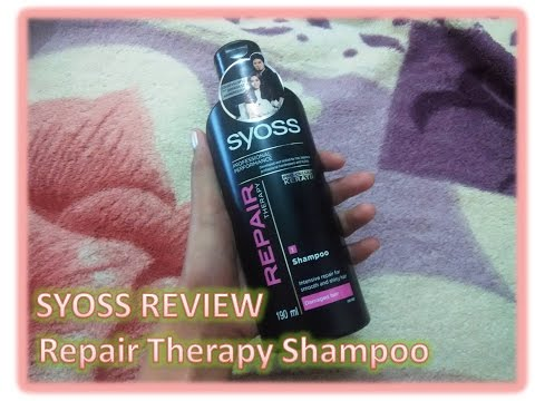 Syoss Repair Therapy Shampoo Review (Philippines) | SuperEon xiv