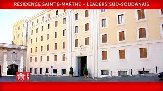Pape François - Leaders sud-soudanais 2019-04-11