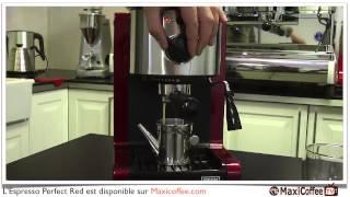 Présentation de la Beem Espresso Perfect Red