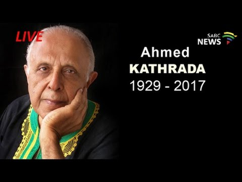 Media Briefing on the late Ahmed Kathrada