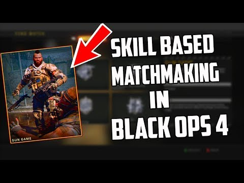skill based matchmaking black ops 2