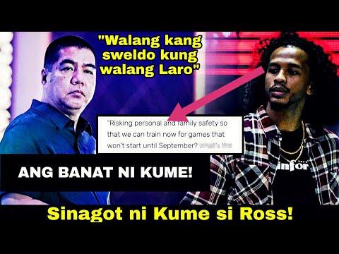 BINATO SI ROSS! NO PLAY NO PAY POLICY NG PBA Ayon Kay PBA COMMISSIONER WILLIE MARCIAL | PBA LATEST