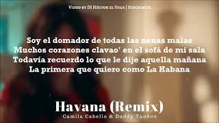 Gambar cover Havana (Remix) - Daddy Yankee & Camila Cabello [Letra/Lyrics]