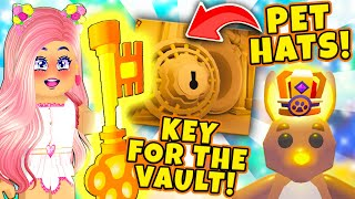How To Get The KEY To Open The VAULT! New Ocean Map & Pet Accessories in Roblox Adopt Me New Update!