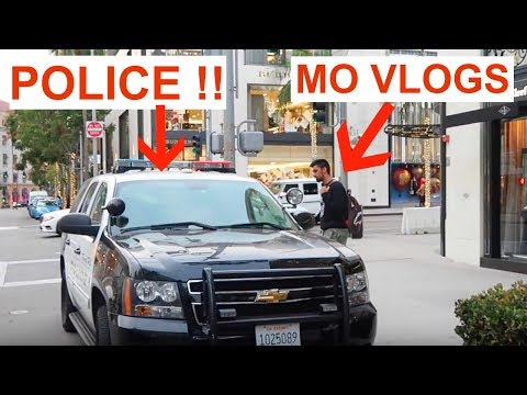 BUSTED BY THE POLICE !!!