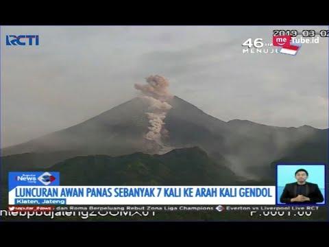 Gunung Merapi Erupsi Sebanyak 7 Kali Dalam 1 Jam - SIS 02/03