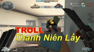 Troll Thanh Niên Lầy Trèo Lên Cây Xương Rồng Trêu Zombie | TQ97