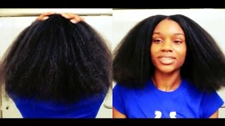 Natural Hair: Start To Finish Using Shea Moisture JBCO Line *BLOW OUT* #EverydayFeb Day 12