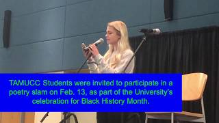 TAMU-CC hosts a poetry slam