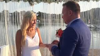 Oludeniz Weddings On Green Pine Beach By Carole And Tayfun 06.08.2019