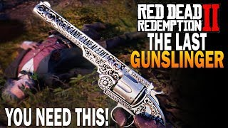 The Final Legendary Gunslinger! Get The RARE Calloway Revolver! Red Dead Redemption 2 Best Weapons