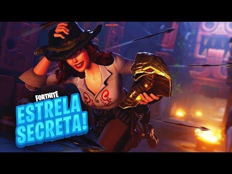 ESTRELA/ESTANDARTE DE BATALHA SECRETA SEMANA 3 TEMPORADA 8 DE FORTNITE