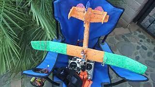 Lofty Chuck Glider Fpv Full Flight + Reg5volt