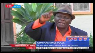Peter Mutulu wants a section of Ukambani leaders to desist from tearing Wiper Party apart