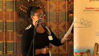 preview picture of video 'Enid Ratahi-Pryor speaks at He Ara Whakamua Whakatane'
