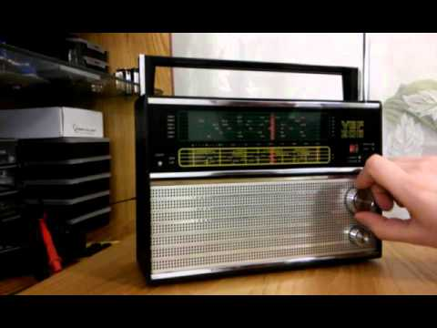 Radio VEF 206 - odbiera stacje z całego świata. Prawdziwy 40-letni antyk