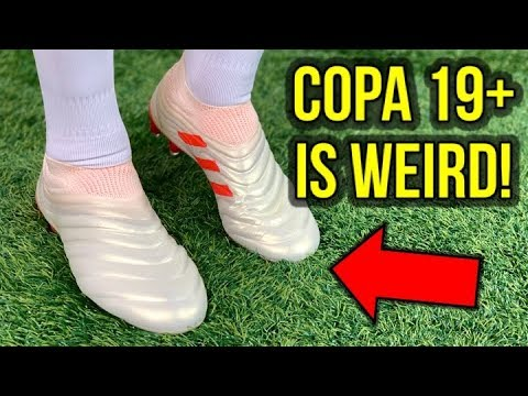KANGAROO LEATHER & LACELESS! – ADIDAS COPA 19+ (DYBALA BOOTS) REVIEW + ON FEET