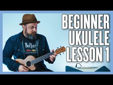 Beginner Ukulele Lesson - Your Very First Ukulele Lesson