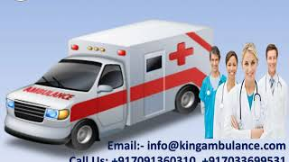 Now Book ICU Setup Ambulance Service in Ranchi and Dhanbad by King