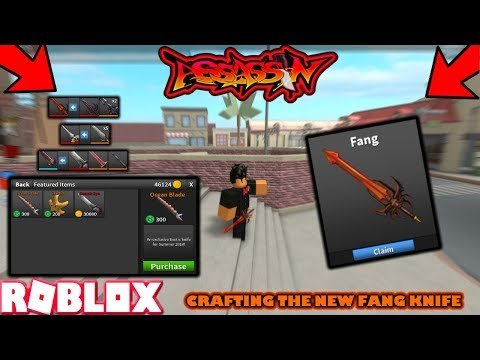 New Crafting Recipes In Roblox Assassin Dream Knives Youtube Crafting Guide For Roblox Assassin Mythicl