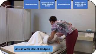 JULIE REYNOLDS - ASSIST WITH USE OF BEDPAN CNA SKILL [TEXAS 2018]