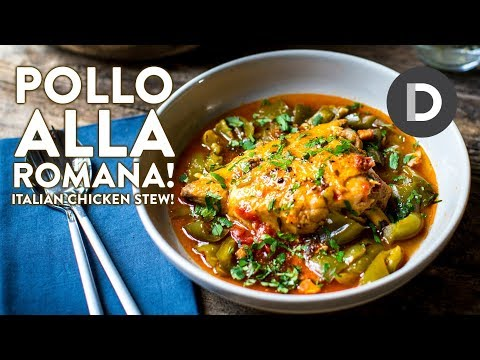 Pollo Alla Romana- Italian Chicken Stew!