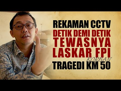 Rekaman CCTV Detik Demi Detik Tewasnya Laskar FPI Korban Tragedi KM 50