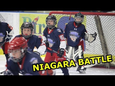 Kids HocKey Niagara Battle Day 2 Big Game vs Norfolk Draft Day USA
