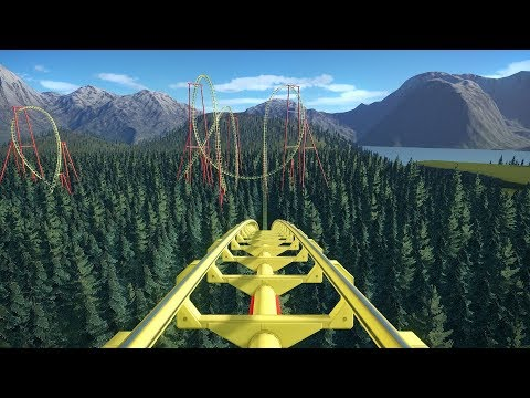 Planet Coaster: Ultra Boomerang Roller Coaster