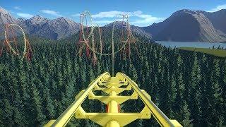 Planet Coaster: Ultra Boomerang Roller Coaster