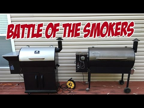Grilla Grills vs Traeger – BATTLE OF THE SMOKERS