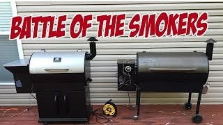 Grilla Grills vs Traeger - BATTLE OF THE SMOKERS