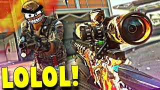 TROLLING ANGRY NOOBS ON CALL OF DUTY...LOL! (Call of Duty Sniping & Funny Moments)