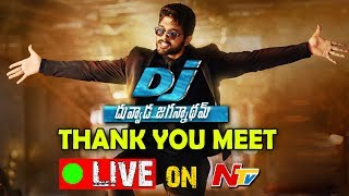DJ- Duvvada Jagannadham Thank You Meet