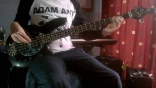 Adam and the Ants. Stand & Deliver Bass Cover.