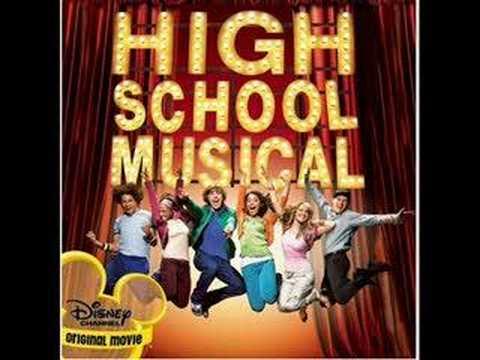 High School Musical - I Can't Take My Eyes Off You - Instrumental w/ lyrics